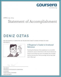 Irrational Behavior Certificate_Deniz Oztas