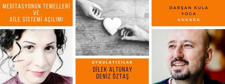 Meditasyon ve Aile Sistemi Çalışması_Ankara